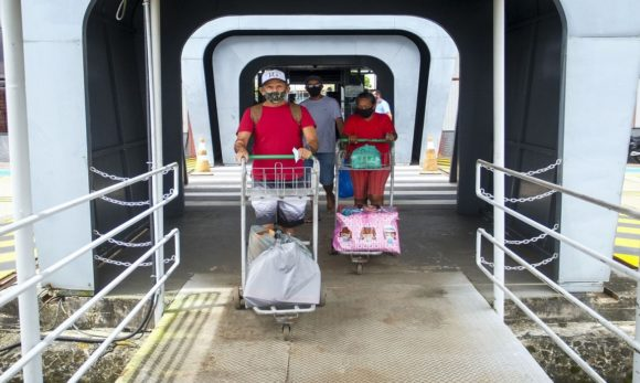 Mais de 77 mil usuários passaram pelo Terminal Hidroviário de Belém em julho