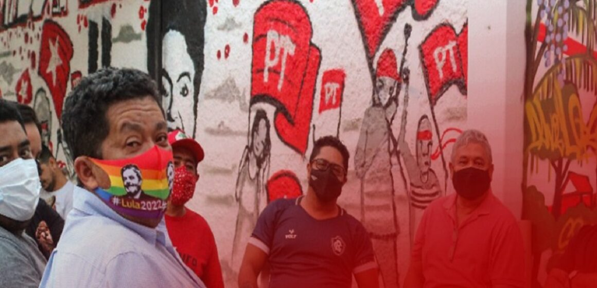 Beto Faro participa da confraternização da nova sede do Partido dos trabalhadores do Pará
