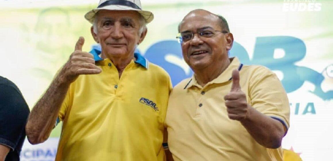 Nilson Pinto participa de convenção em Tomé-Açu para lançar Francisco Eudes candidato a prefeito