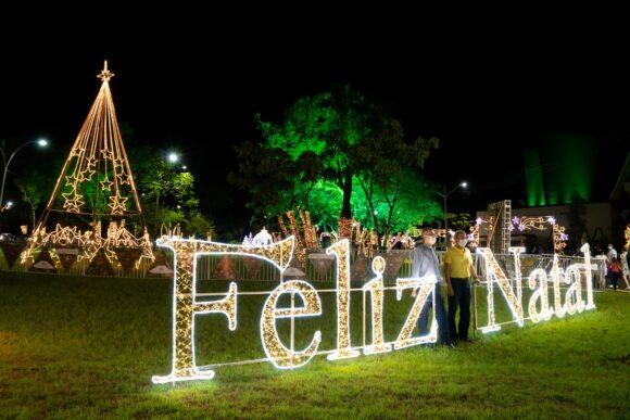 Natal de Águas e Luzes de Foz abre processo para receber propostas de decoração