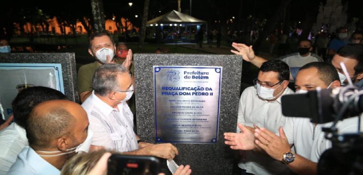 População ganha Praça Dom Pedro II totalmente revitalizada