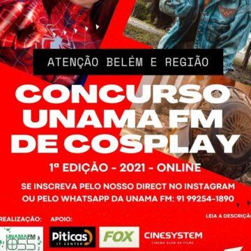 UNAMA FM realiza o seu 1º Concurso Cosplay