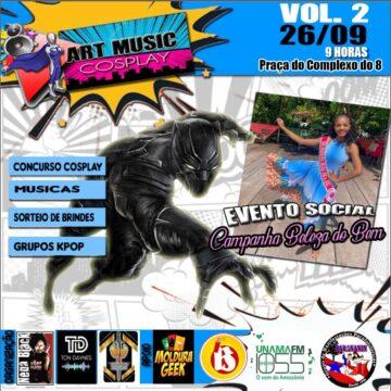 2ª edição do Art Music Cosplay é realizado neste domingo em Ananindeua