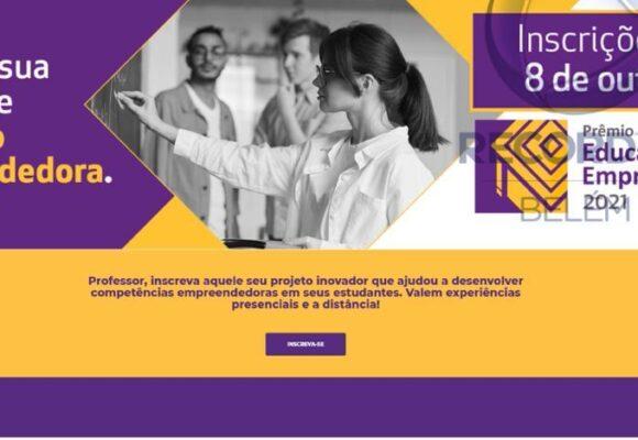 Prorrogadas as inscrições do Prêmio Sebrae de Educação Empreendedora