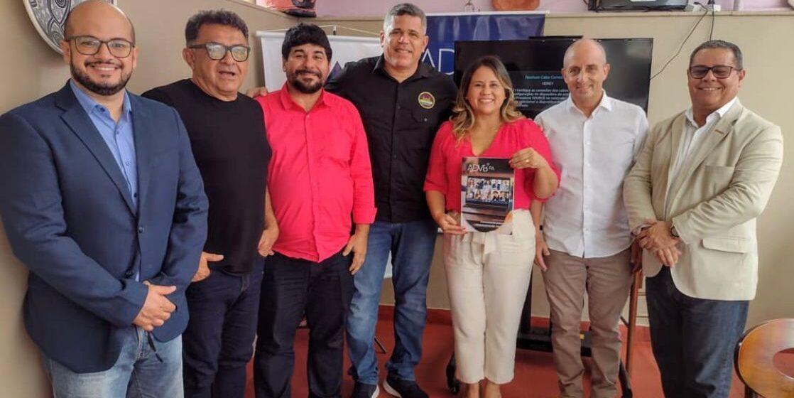 Almoço de negócios da ADVB reúne empresariado local no restaurante Ver-o-Açaí
