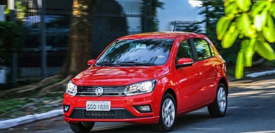 Carro popular Volkswagen Gol supera a marca de R$ 88 mil reais