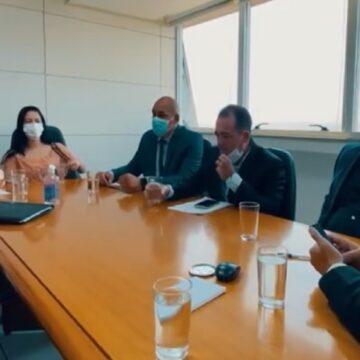 Darci Lermen assina parceria em Brasília em prol de Parauapebas