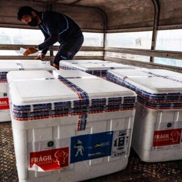 Pará recebe mais 38 mil doses de vacina contra a Covid-19 nesta sexta-feira (24)