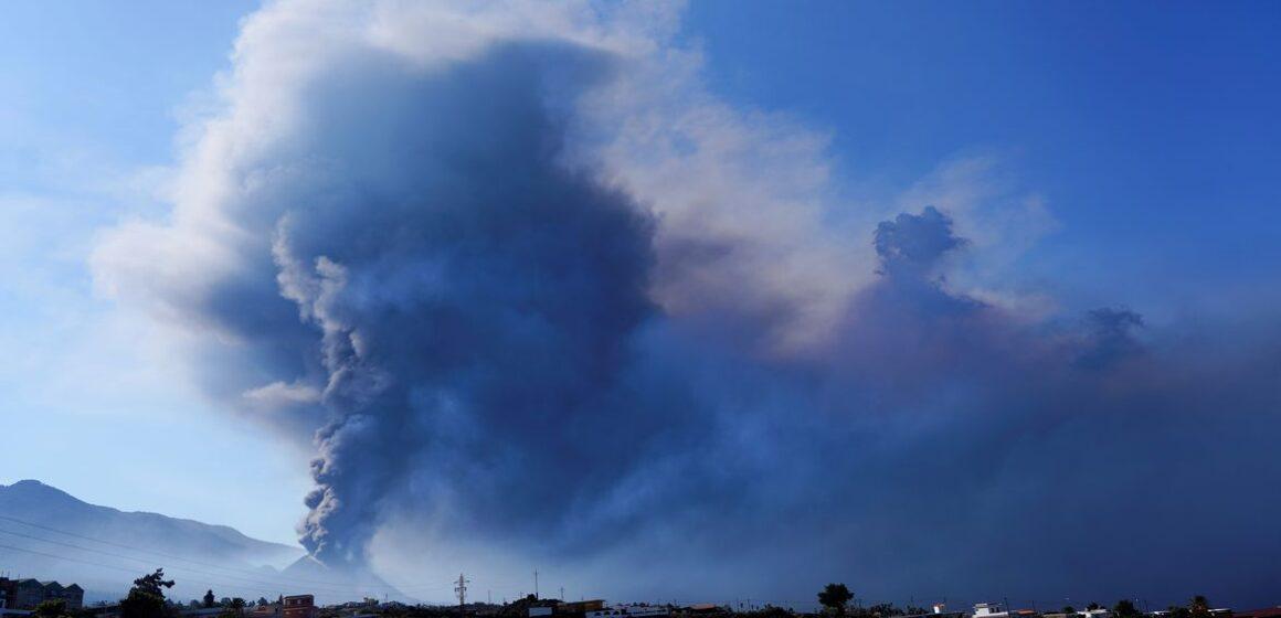 Lava do Vulcão Cumbre Vieja ocupa 656 hectares