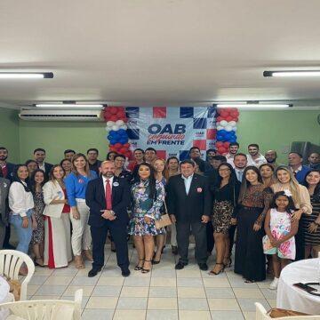 Eduardo Imbiriba e chapa OAB sempre à frente visitam Rondon do Pará