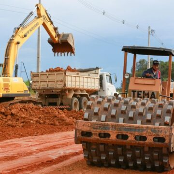 Olival Marques destina recursos para pavimentação na BR-422