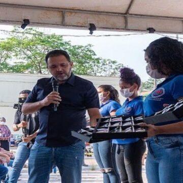 Chamonzinho acompanha ação de saúde ofertada em Parauapebas