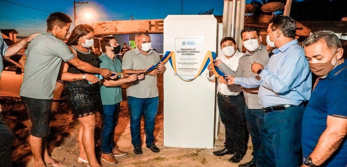 Prefeitura de Santarém entrega campo iluminado para a população