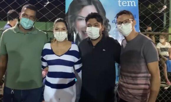 Renilce Nicodemos acompanha serviços de saúde em São Francisco do Pará